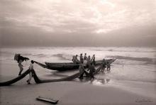 ©1988 Saint-Louis au Sénégal. Lébous de Guet'Ndar Princes de la barre Sans eux Ndar N'serait pas Ndar